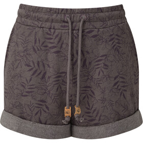 tentree Bamone Sweatshorts Dames, boulder grey/floral all over print